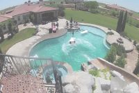 Inspirational Gopro: Awesome Backyard Pool & Slide – Youtube intended for Elegant Awesome Backyards