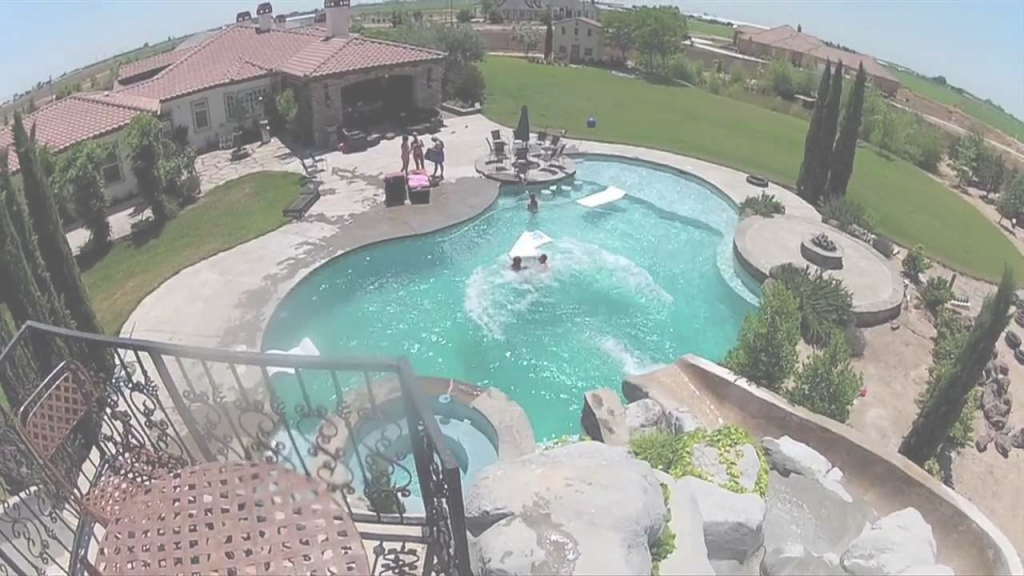 Inspirational Gopro: Awesome Backyard Pool & Slide - Youtube intended for Elegant Awesome Backyards