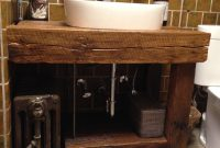Inspirational Hand Crafted Rustic Bath Vanity – Reclaimed Barnwoodintelligent inside Luxury Barnwood Bathroom Vanity