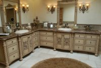 Inspirational Handmade Custom Faux Finish Master Bathroom Cabinets Westend inside New Custom Bathroom Cabinets