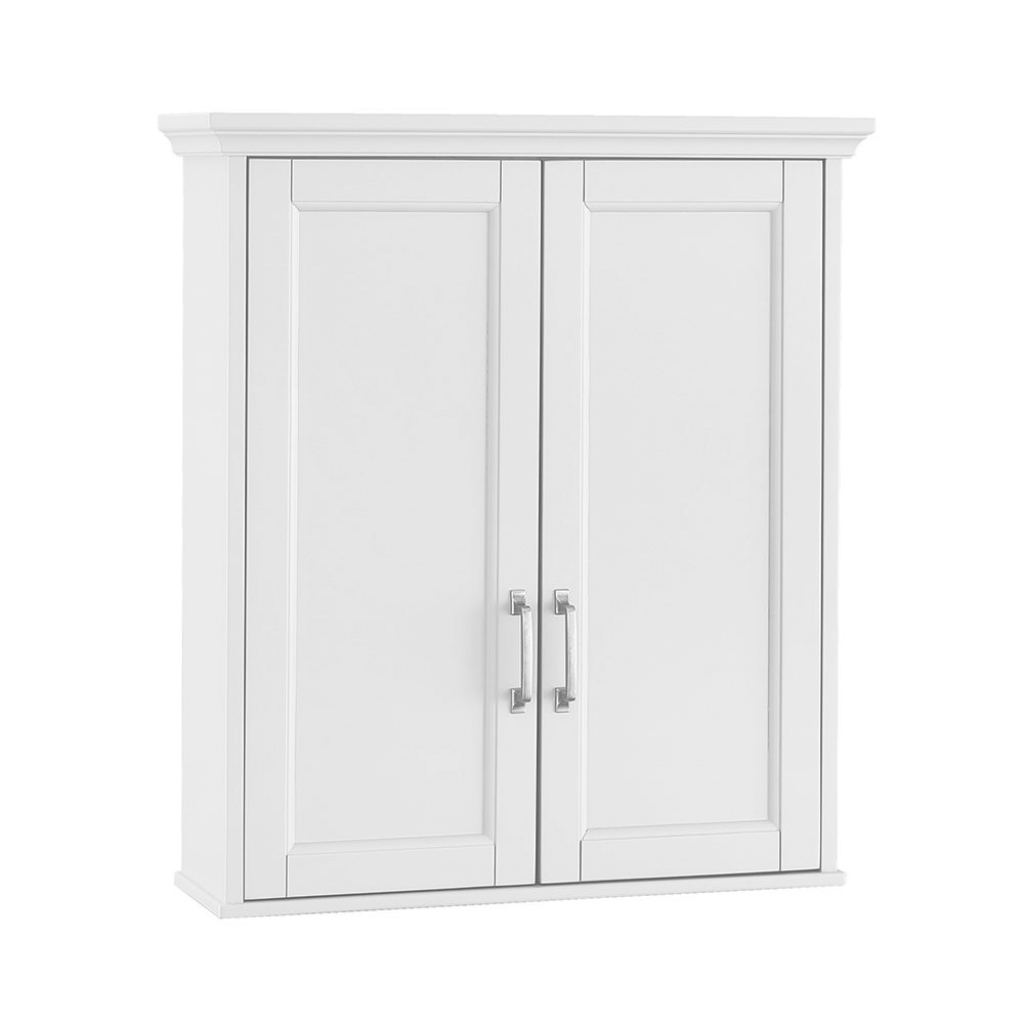 Inspirational Home Decorators Collection Ashburn 23-1/2 In. W X 27 In. H X 8 In. D pertaining to Set Wall Bathroom Cabinets