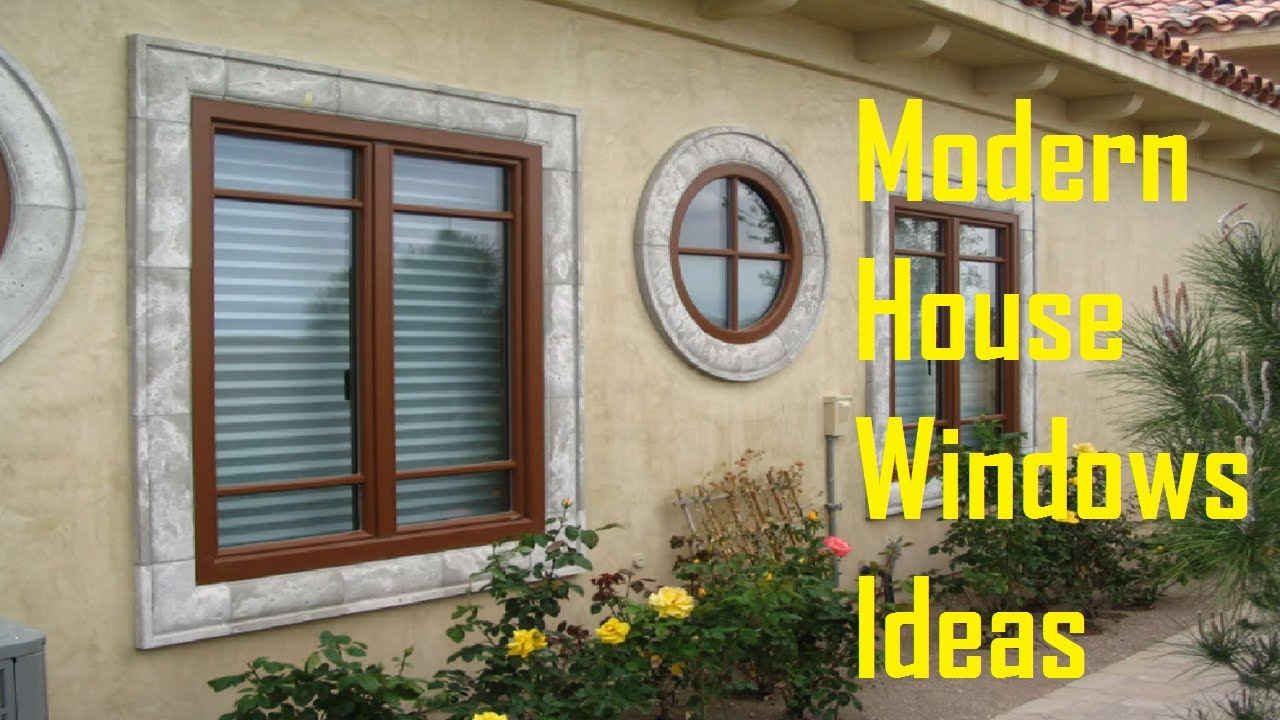 Inspirational House Window Designs Ideas - Modern House Windows - Youtube pertaining to Window Design Pictures
