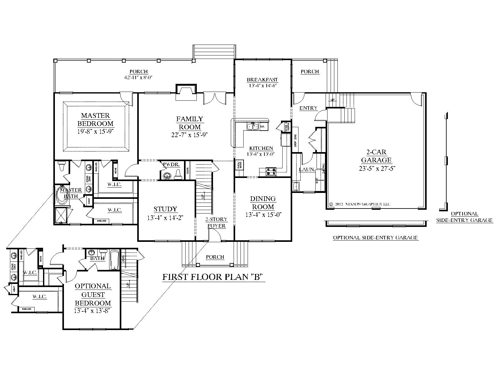 Inspirational Houseplans.biz | House Plan 3397-B The Albany B in Unique Small 5 Bedroom House Plans
