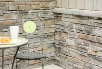 Inspirational How To Install An Inside Stone Veneer Corner With Fusion Stone – Youtube with How To Install Stone Backsplash