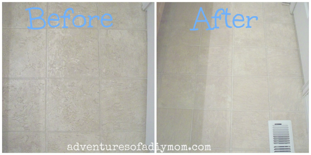 Inspirational How To Remove Hairspray Residue From Floor - Adventures Of A Diy Mom for Good quality Cheap Bathroom Flooring