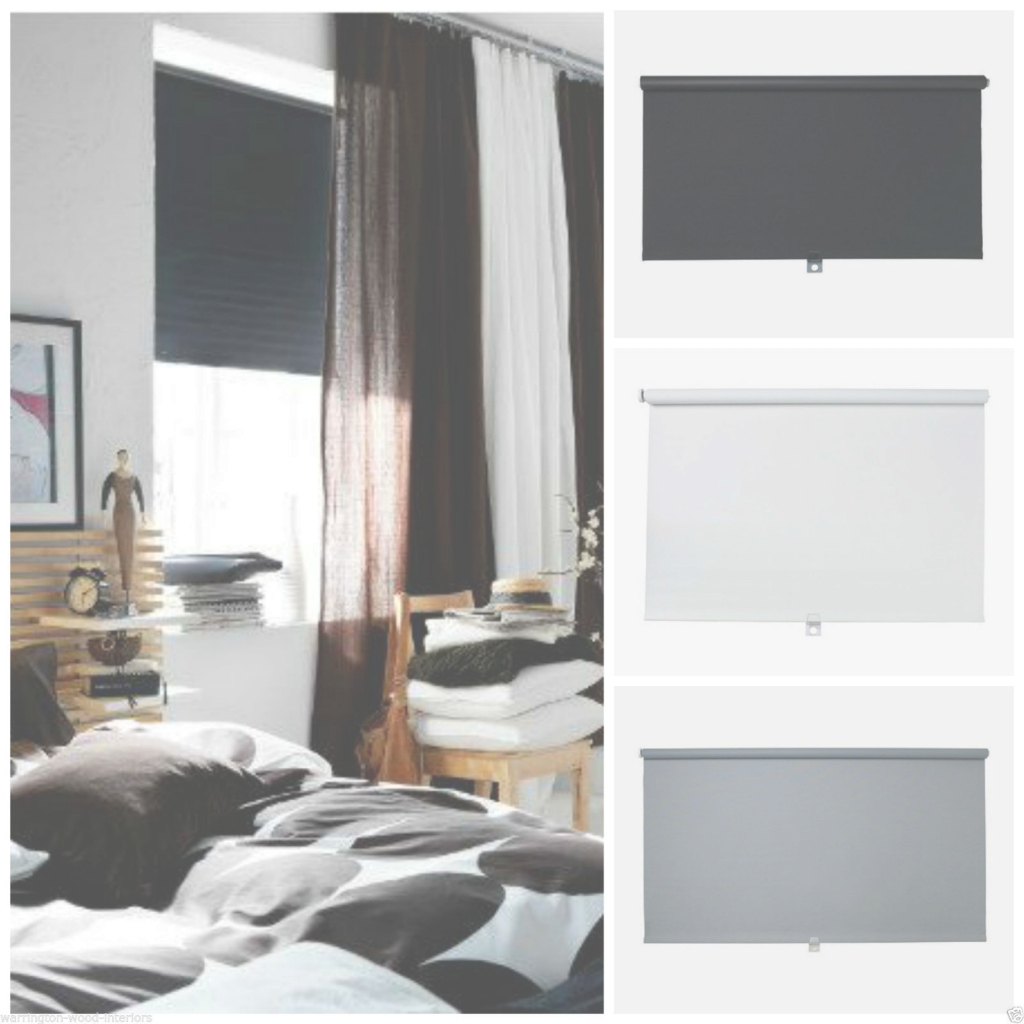 Inspirational Ikea ☆ Tupplur ☆Blackout Blind ☆ Black, White Or Grey ☆ New inside Tupplur Ikea
