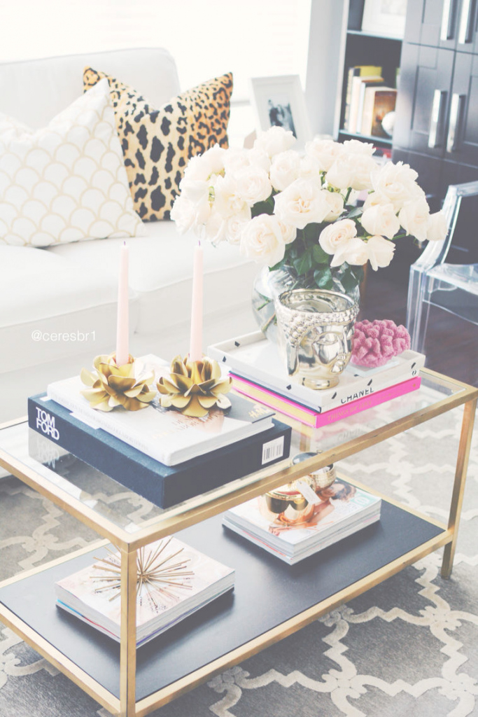 Inspirational Ikea Vittsjo Coffee Table Hack - The Pink Dream throughout Ikea Coffee Table Hack