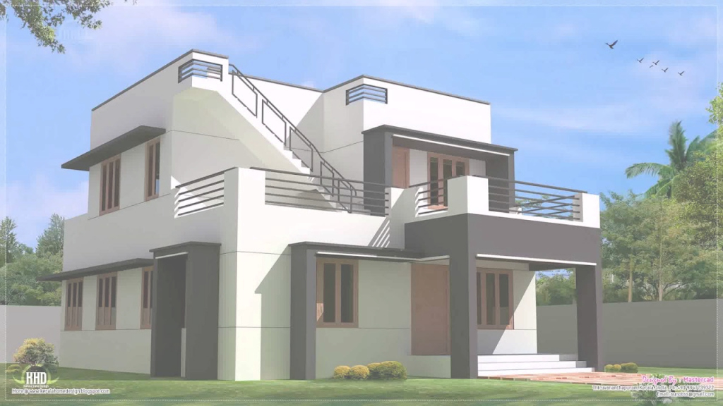 Inspirational Indian Middle Class House Exterior Design - Youtube pertaining to Indian Home Exterior Design Photos Middle Class
