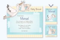 Inspirational Invitación De Baby Shower Para Niño Mod: Bs07 Incluye: Invitación regarding Invitaciones De Baby Shower Para Niño