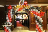 Inspirational Jocelyn Ng Professional Balloon Artist Blog | Balloon Sculpting with Awesome Casino Theme Party Decorations
