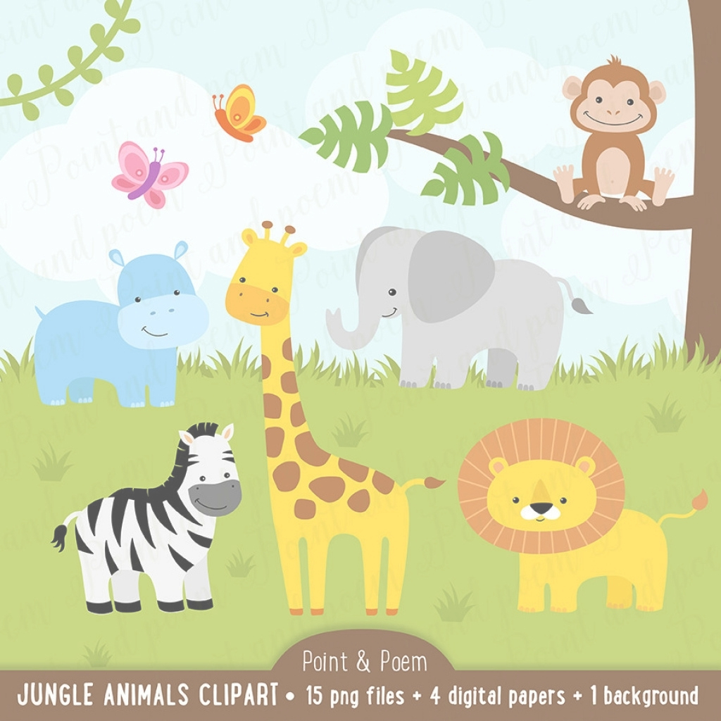 Inspirational Jungle Animals Ba Shower Plates Ba Showers Ideas Pertaining To throughout Awesome Safari Animals Baby Shower