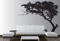Inspirational Large Wall Tree Decal Forest Decor Vinyl Sticker Highly Detailed intended for Unique Tree Wall Decals For Living Room
