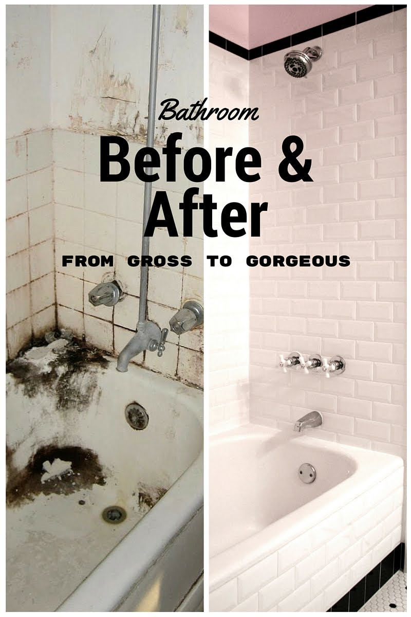 Inspirational Leaving The Ivory Tower: Retro Budget Bathroom Remodel intended for Unique Inexpensive Bathroom Remodel