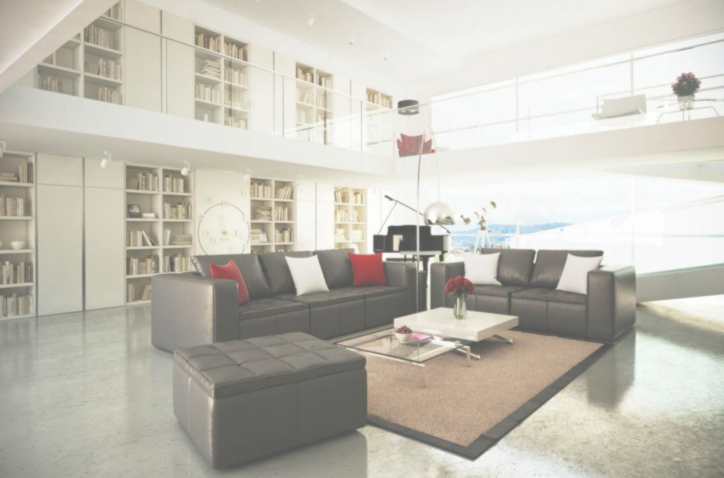Inspirational Living Room Of Mezzanine Floor Images With Black White Including within Toshi's Living Room