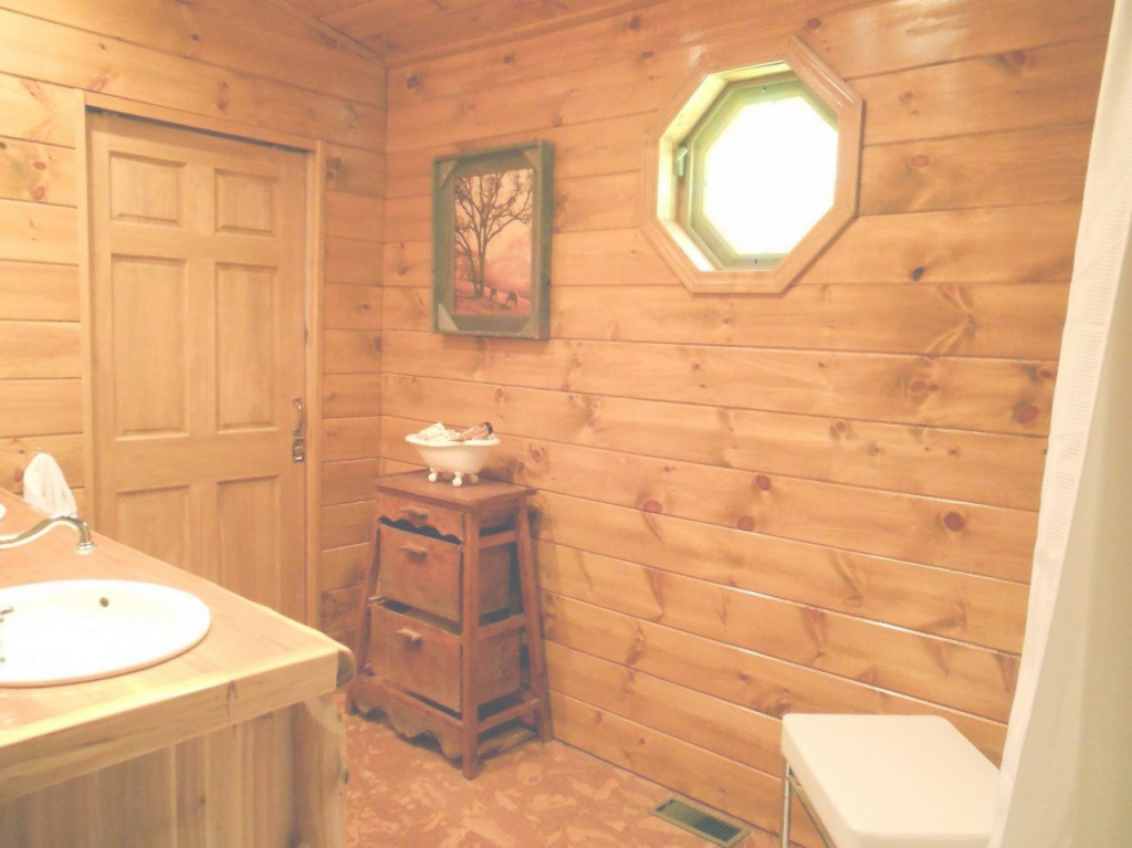 Inspirational Log Cabin Bathroom Ideas Home Decor Pictures Design, Log Home in Cabin Bathroom Ideas