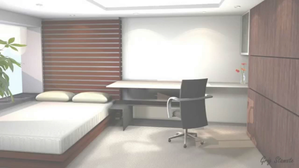 Inspirational Minimalist Small Bedroom Design Ideas - Youtube intended for Good quality Small Minimalist Bedroom