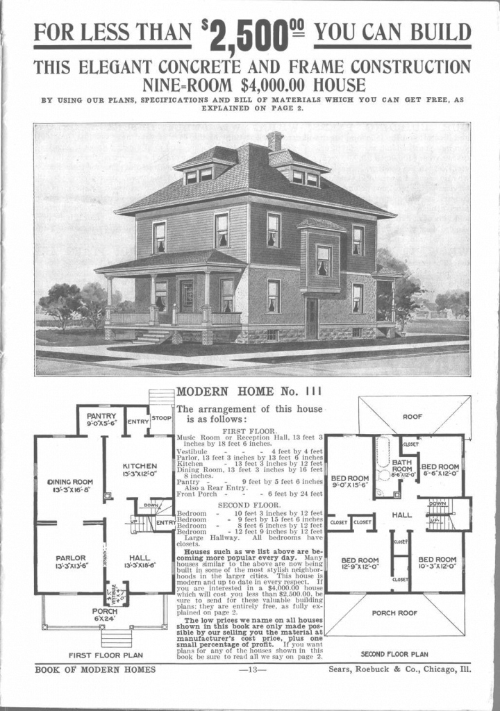 Inspirational Modern American Foursquare House Plans Unique Kit Log Homes - Wonac with regard to American Foursquare Floor Plans Images