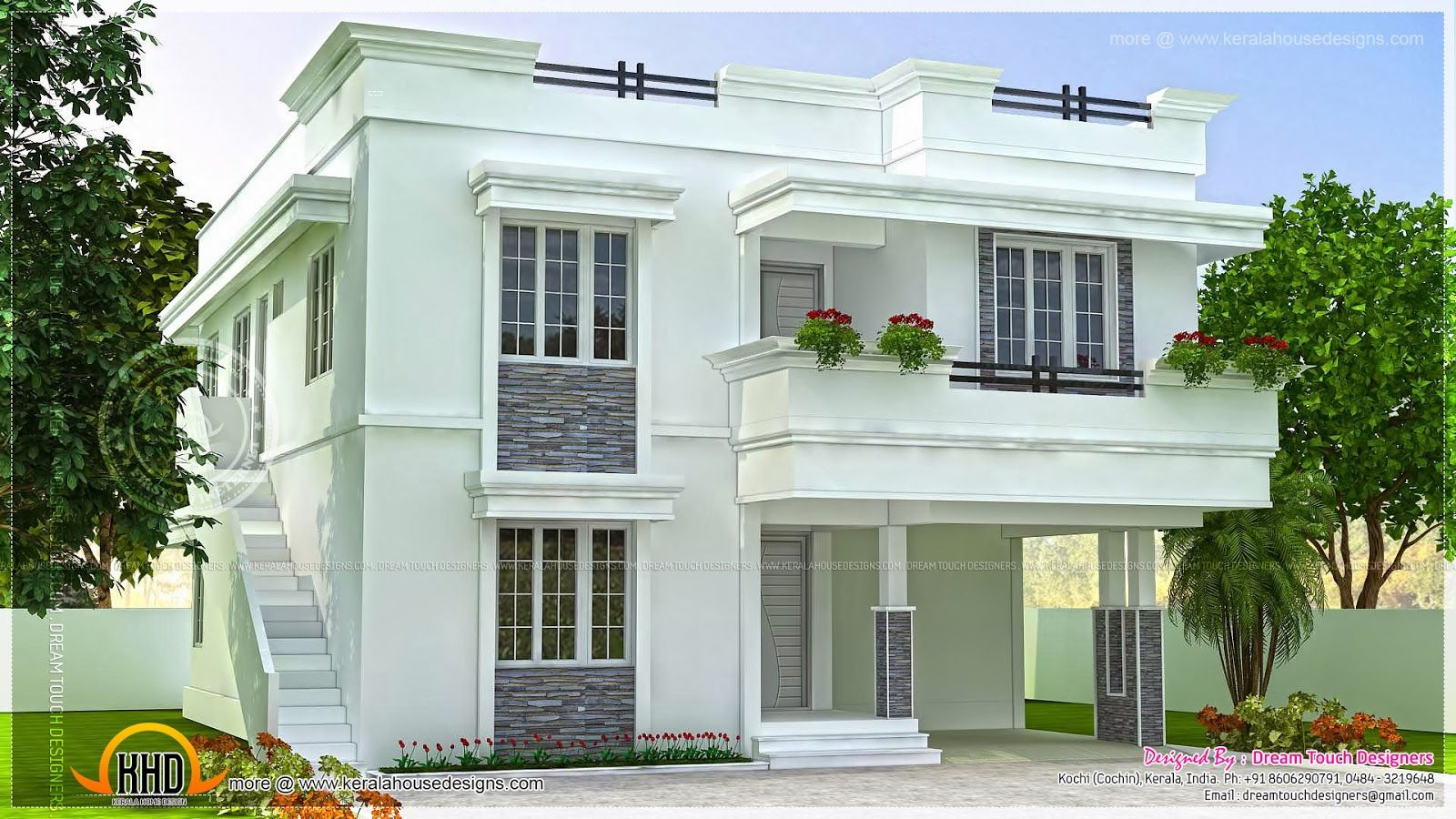 Inspirational Modern Beautiful Home Modern Beautiful Home Design Indian House with regard to Indian Home Exterior Design
