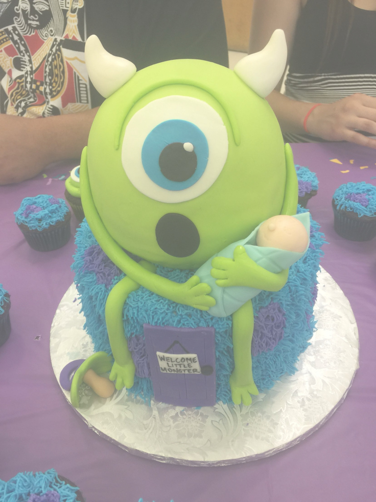 Inspirational Monsters Inc Baby Shower Cakelavish Lucy | Baby Shower with New Monsters Inc Baby Shower Cake