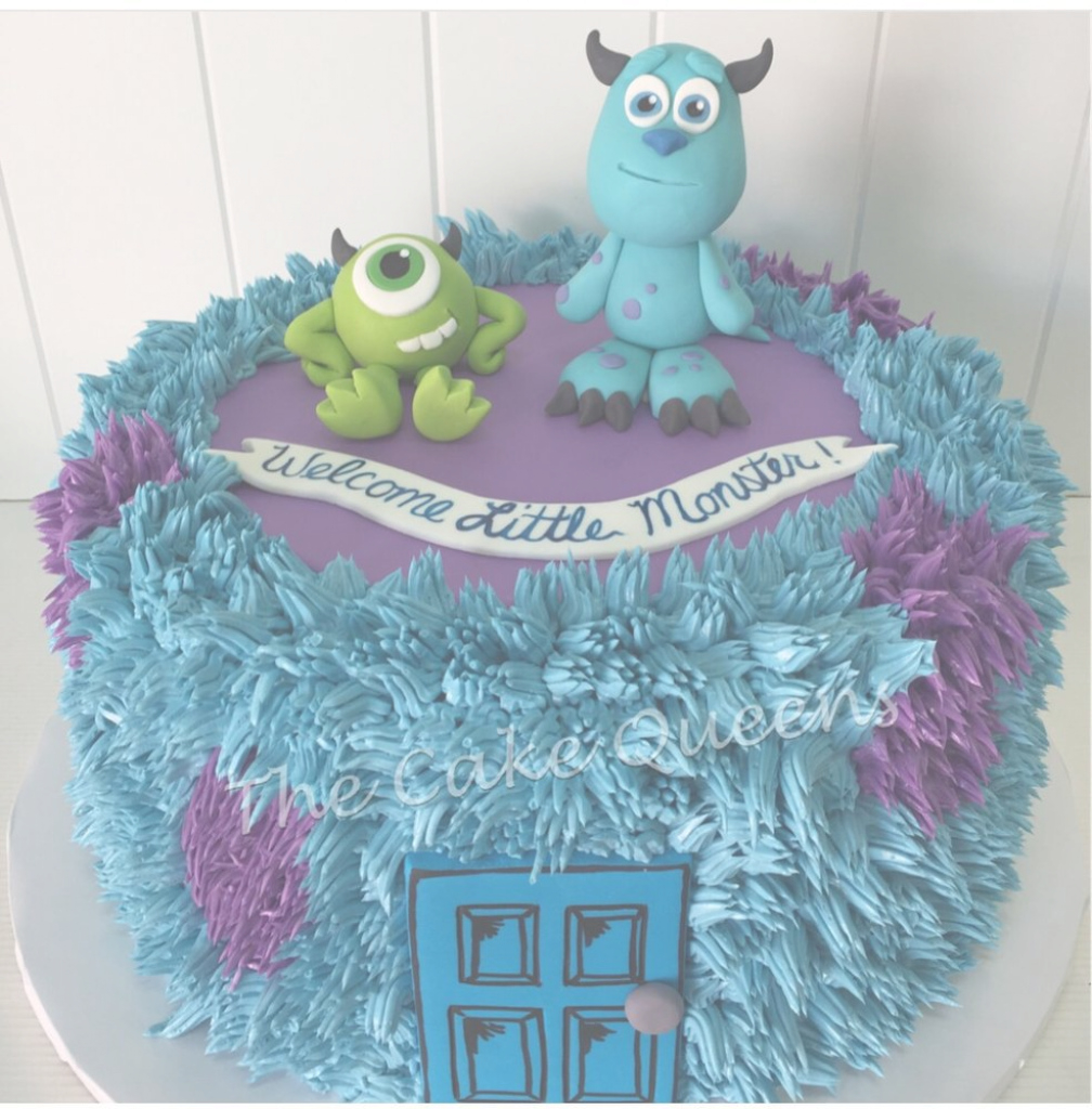 Inspirational Monsters Inc Babyshower Cake - Yelp throughout Monsters Inc Baby Shower Cake