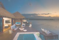 Inspirational New: All-Inclusive Overwater Bungalows Just Off The Coast Of Montego with Good quality Sandals Over The Water Bungalows