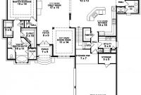 Inspirational One Story House Plans With And 5 Bedroom Floor ~ Interalle inside Good quality House Plans With Photos One Story