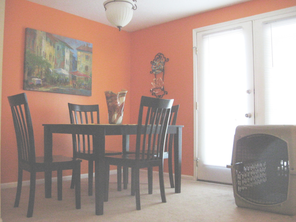 Inspirational Orange Dining Room With Wood Dining Furniture Alda Glass Door Design in Awesome Orange Dining Room