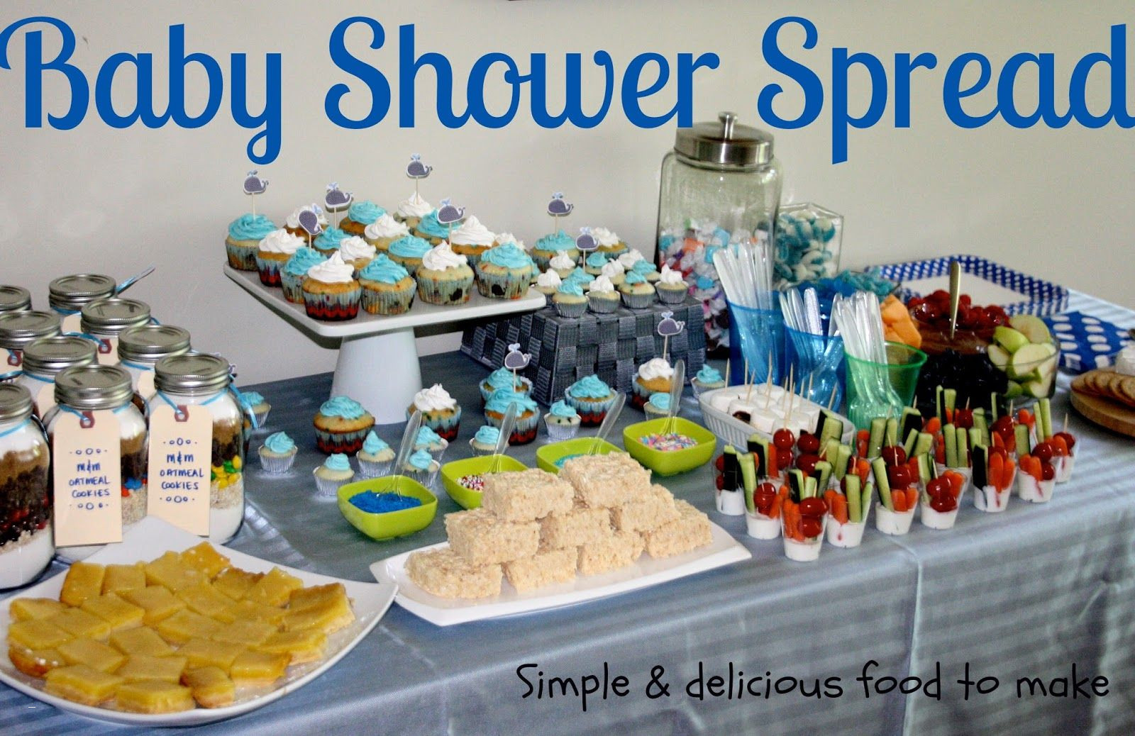 Inspirational Outdoor Baby Shower Food Ideas Best Of Splendid Baby Boy Shower inside Baby Shower Food Ideas For Boy