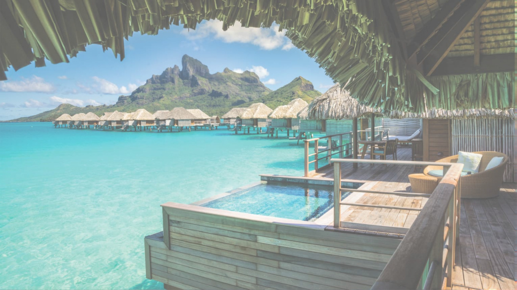 Inspirational Overwater Bungalows Bora Bora | Huts & Villas | Four Seasons Resort throughout Best of Bungalows In Bora Bora