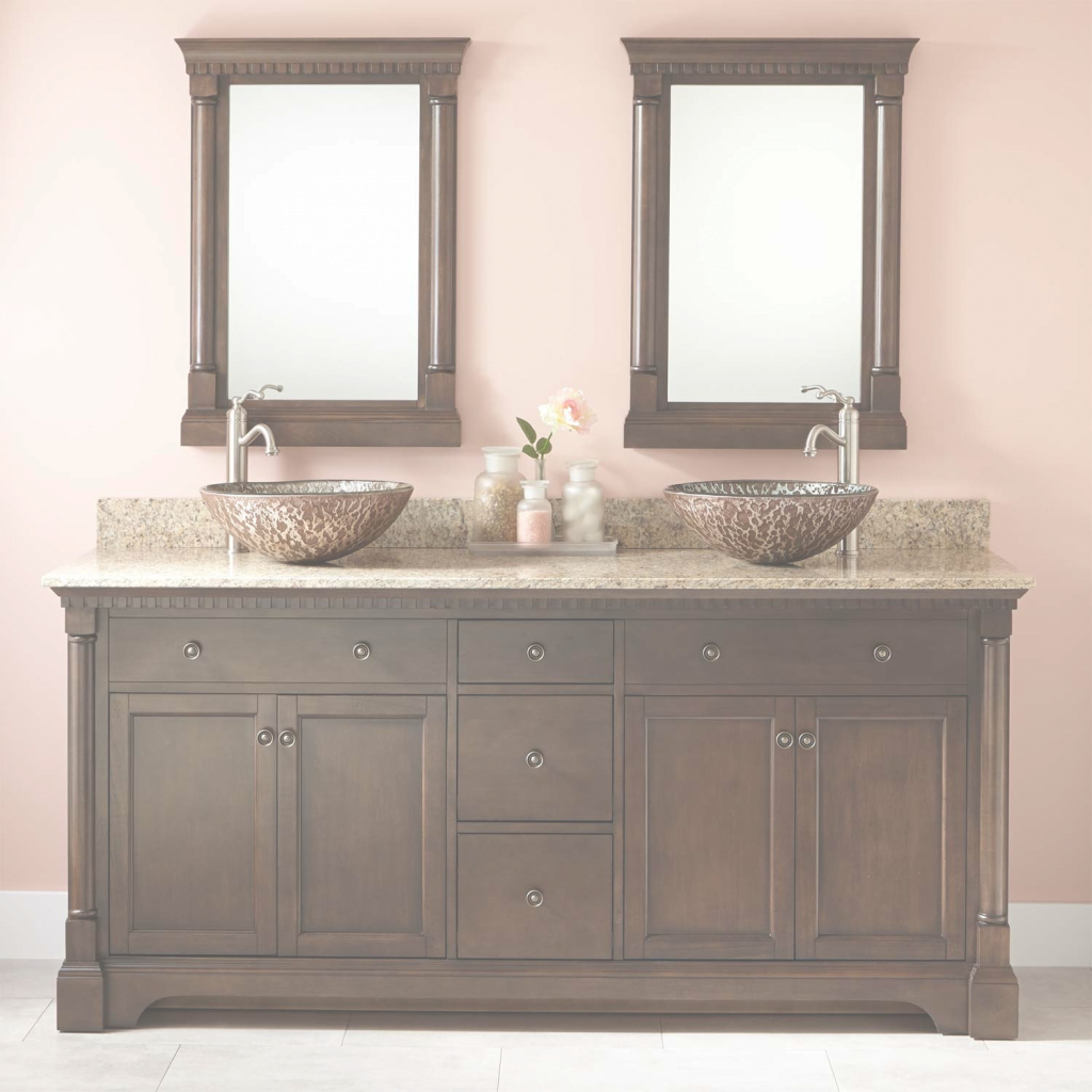 Inspirational Perfect Double Sink Bathroom Vanity Ideas Top 68 Single 72 White 60 for Bathroom Vanity 72 Double Sink