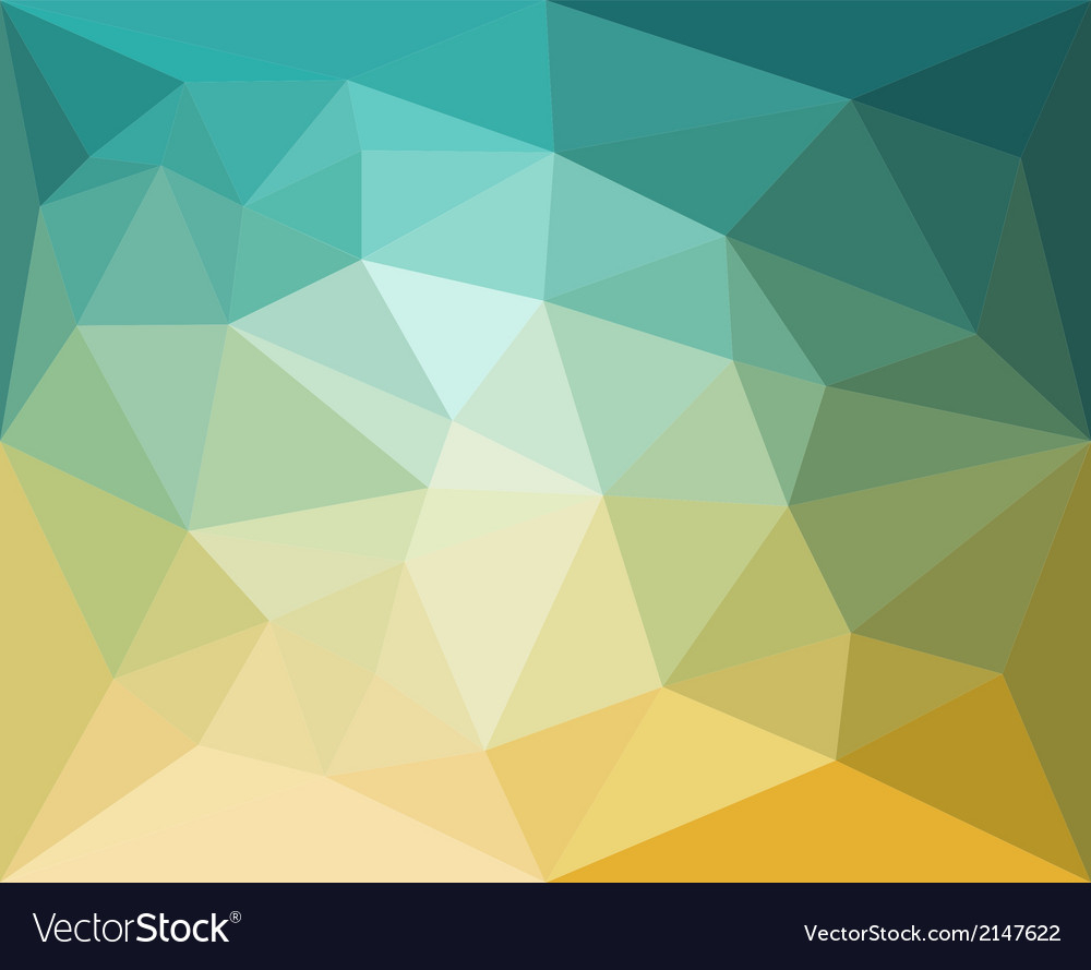 Inspirational Polygon Abstract Pattern Background In Flat Color Vector Image with Set Color Pattern Design