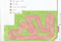 Inspirational Potential Rc Track Layouts | Sackville Rc regarding Elegant Backyard Rc Track Ideas