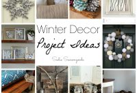 Inspirational Repurposed And Upcycled Vintage Winter Decor Ideas From Diy throughout Winter Decorations Diy