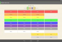 Inspirational Resistor Color Code Apk Download – Free Tools App For Android within Review Android Color Codes