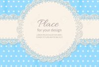 Inspirational Retro Background With Lace And Polka-Dot Wallpaper.baby Shower throughout New Baby Shower Wallpaper