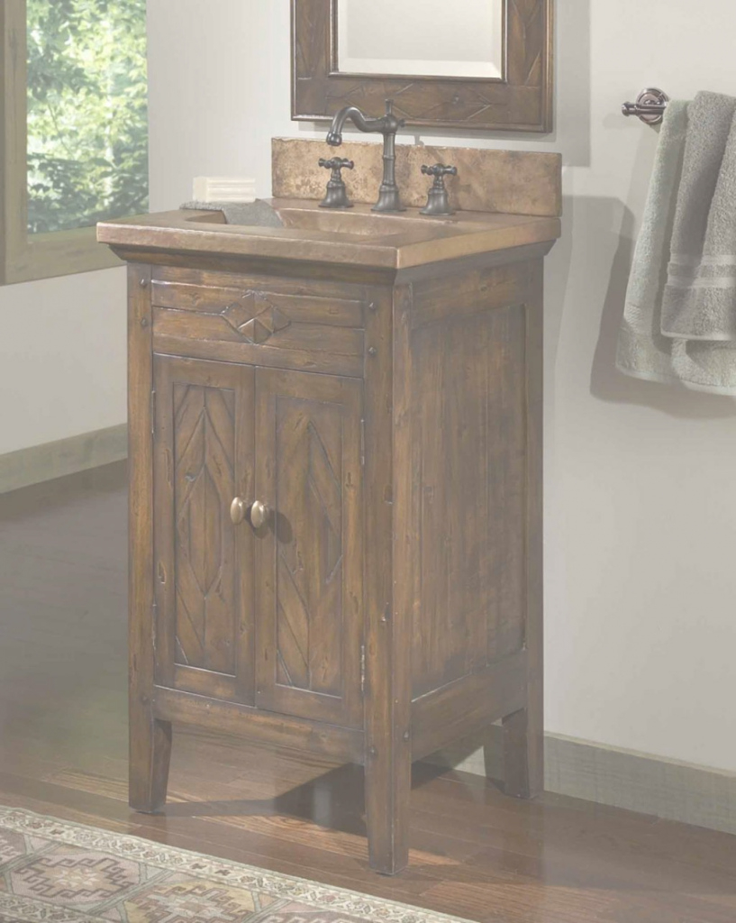 Inspirational Rustic Bathroom Vanity | Tops Home Design Ideas (28-Jul-18 05:38:11) within Bathroom Vanity Rustic