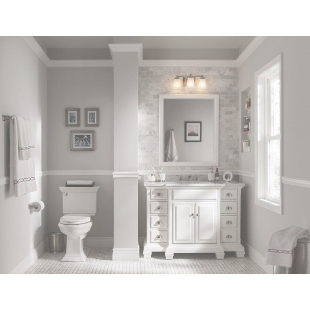 Inspirational Shop Allen Roth Vanover White Undermount Single Sink Bathroom Vanity in Allen And Roth Bathroom Vanities