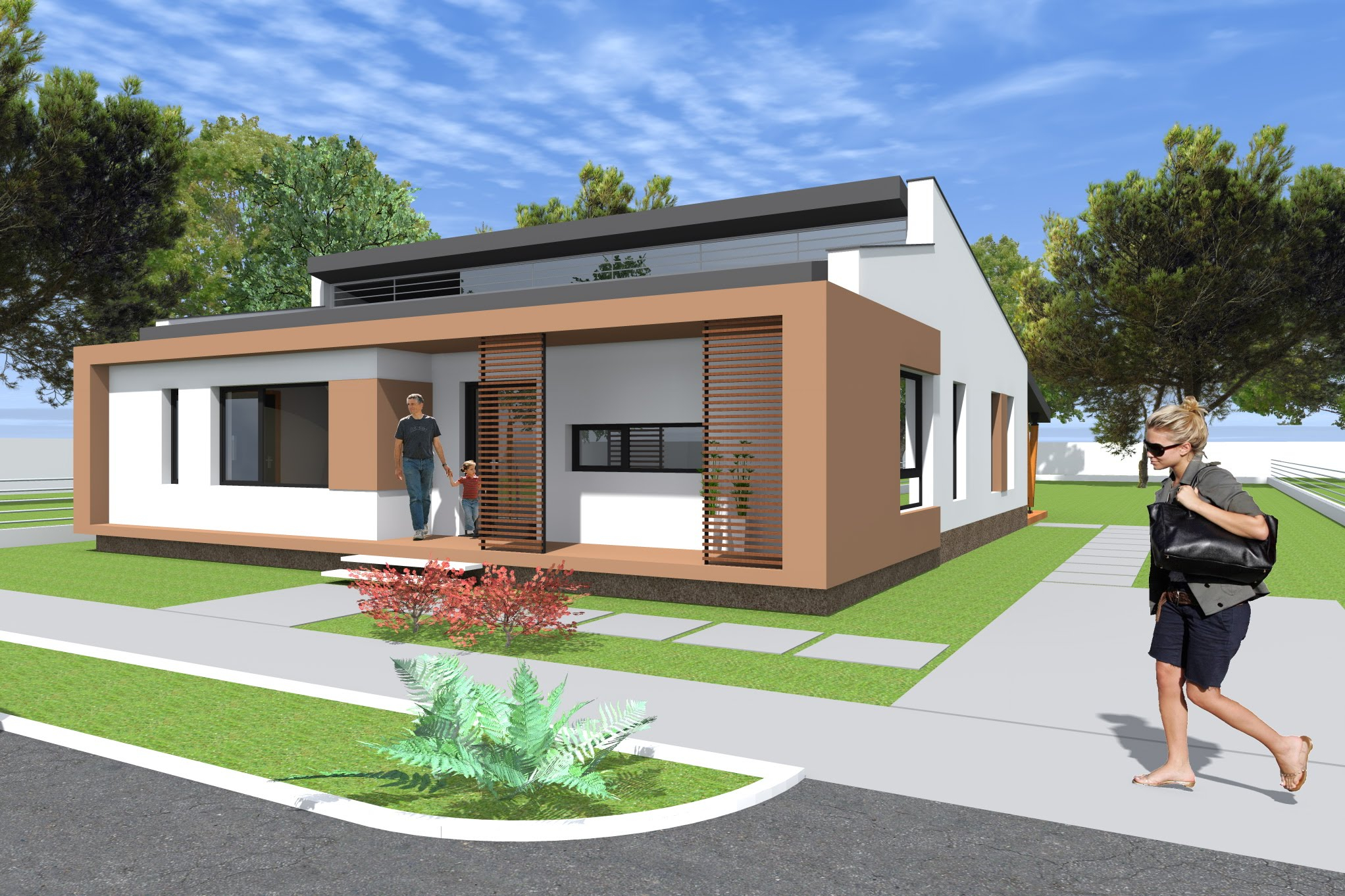 Inspirational Small Modern Bungalow House Design. 133 Square Meters (1431 Sq Feet pertaining to Inspirational Small Bungalow