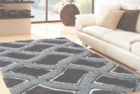 Inspirational Soft Shag Indoor Living Room Area Rug In Blackrug Addiction intended for Elegant Soft Area Rugs For Living Room