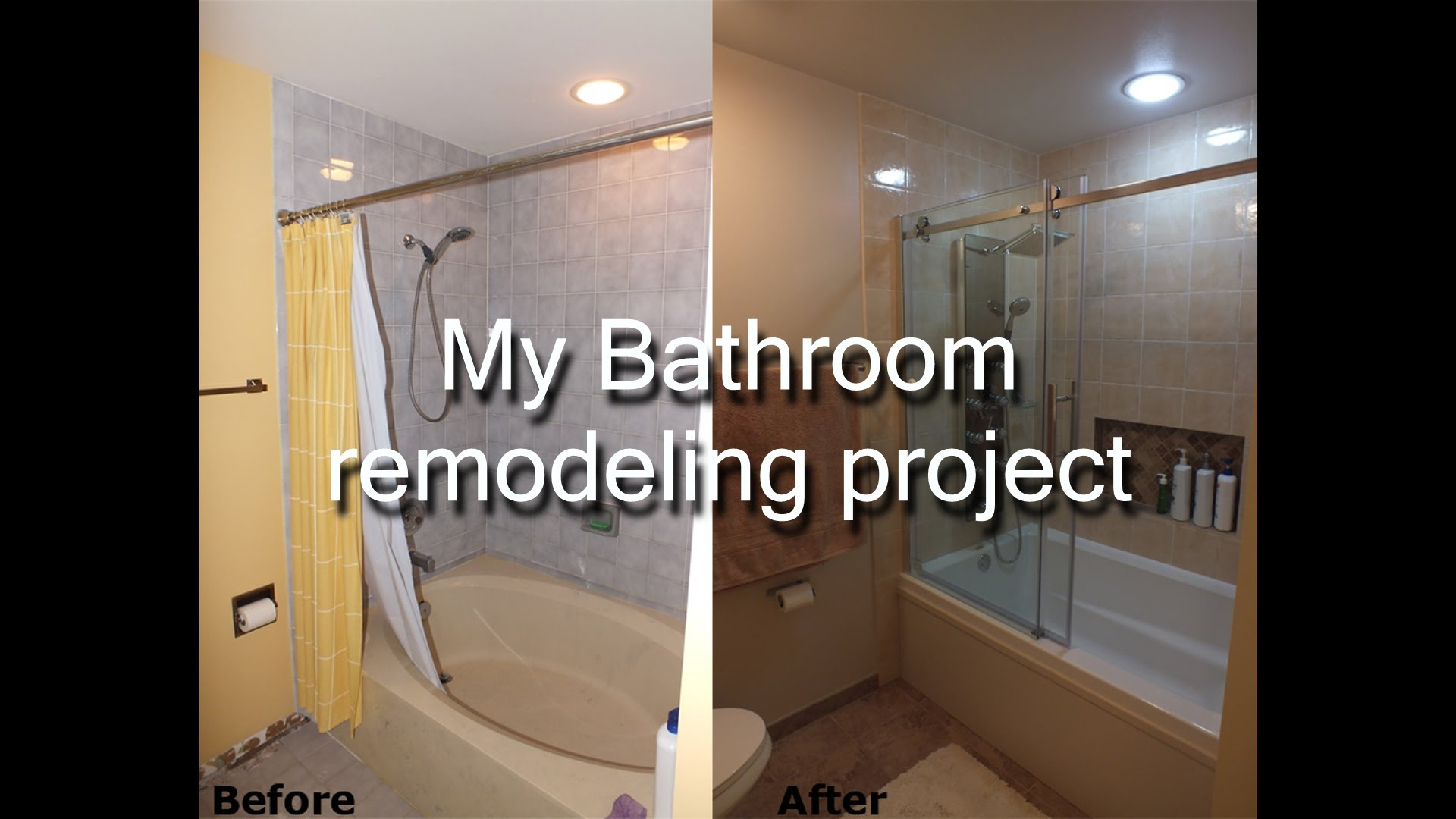 Inspirational Stepstep Diy Bathroom Remodeling Project - Youtube throughout Bathroom Remodel Diy