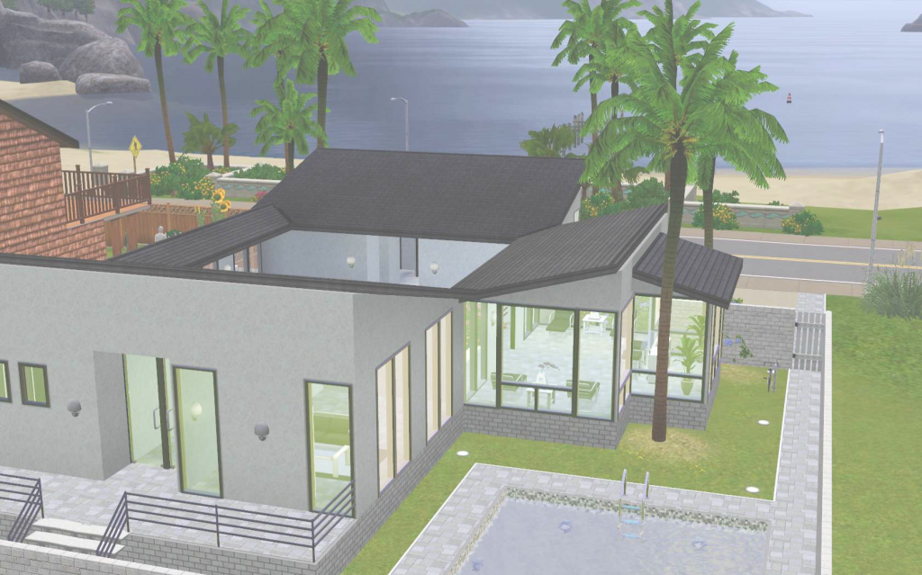 Inspirational The Sims 3: Room Build Ideas And Examples within Elegant Sims 3 House Layouts