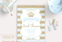 Inspirational Tiny Prints Baby Shower Invitations Little Prince Baby Shower Within with Tiny Prints Baby Shower