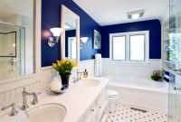 Inspirational Traditional Bathroom Designs: Pictures & Ideas From Hgtv | Hgtv intended for Unique Blue Bathroom Remodel