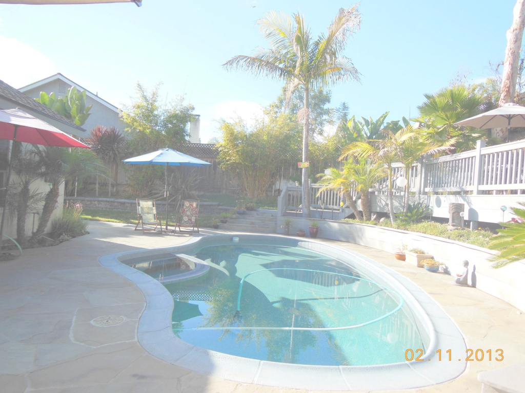 Inspirational Tropical Backyard Paradise! Bring The Pets. Pool, Deck, Spa, Garden inside Backyard Paradise