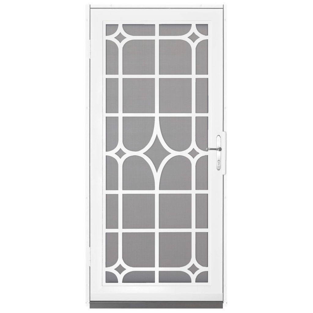 Inspirational Unique Home Designs 36 In. X 80 In. Lexington White Surface Mount for Steel Window Grill Design Catalogue Pdf