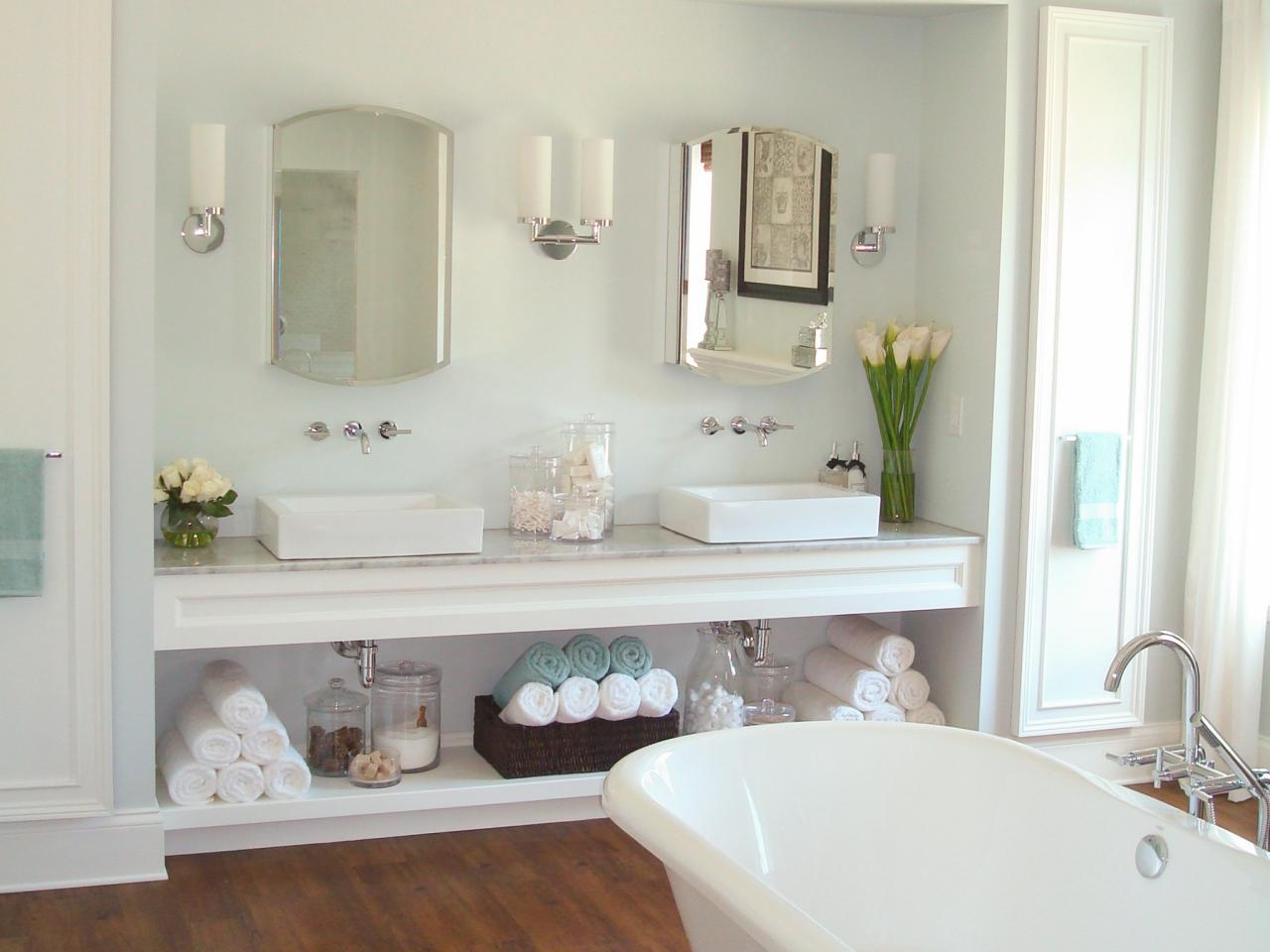 Inspirational Vanity Organizer | Hgtv with regard to Bathroom Vanity Storage