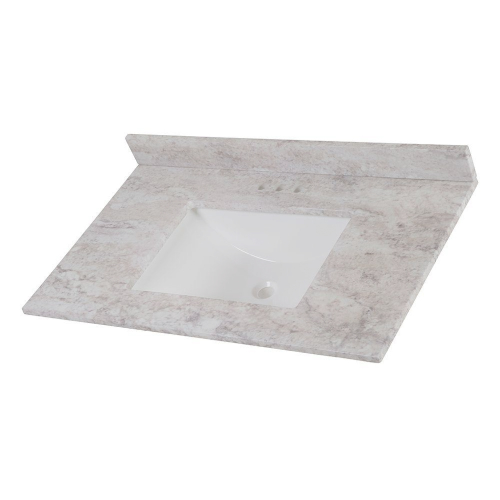 Inspirational Vanity Tops - Bathroom Vanities - The Home Depot pertaining to Lovely Bathroom Vanity Countertops
