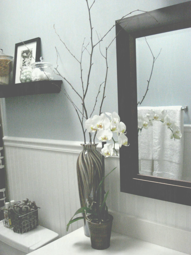 Inspirational Wall Color Is Benjamin Moore Yarmouth Blue This A New For Me It within Fresh Yarmouth Blue Bathroom