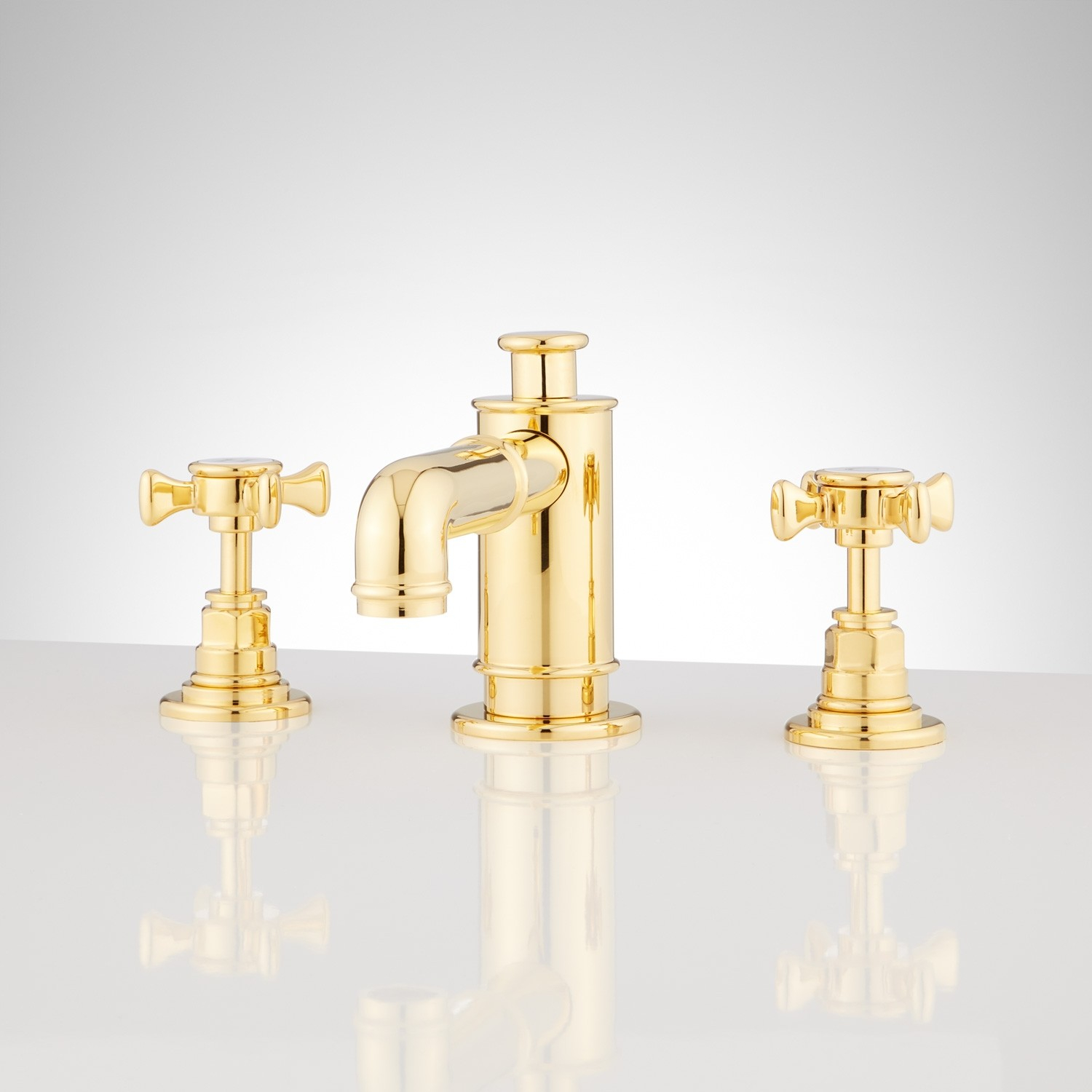 Inspirational Waterson Widespread Bathroom Faucet With Cross Handles - Bathroom in High Quality Gold Faucet Bathroom