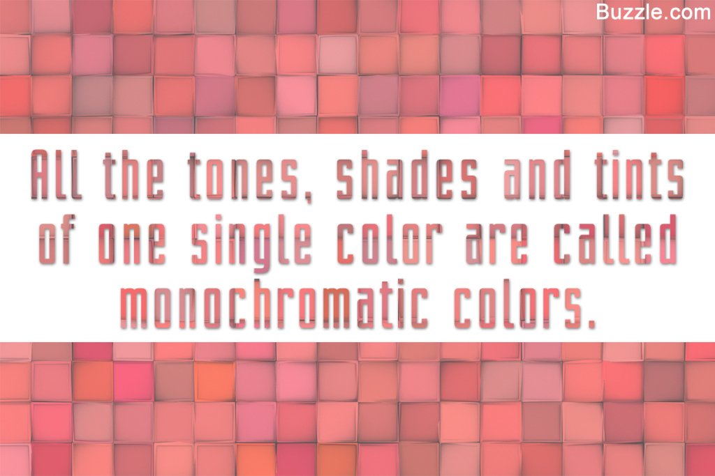 Inspirational What Do Monochromatic Colors Mean In Art? We Explain In Detail intended for Lovely Monochromatic Colors